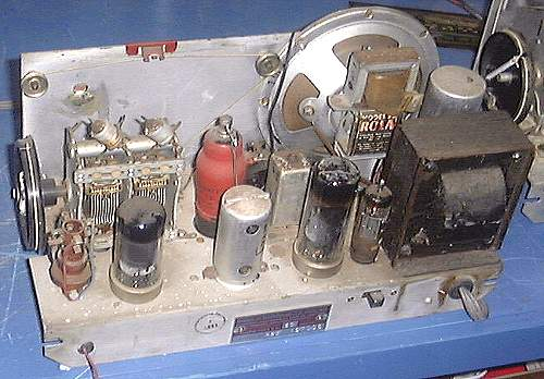 Chassis of Early Cygnet Radio