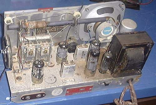 Chassis of Later Cygnet Radio