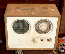 Double Decca Radio as Received