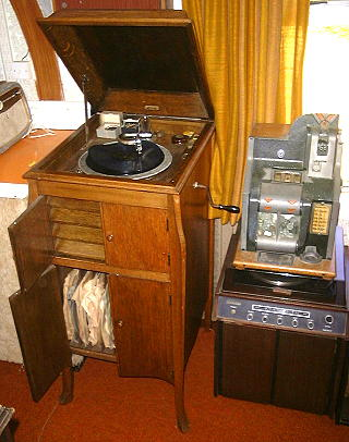 Letoile Console Phonograph