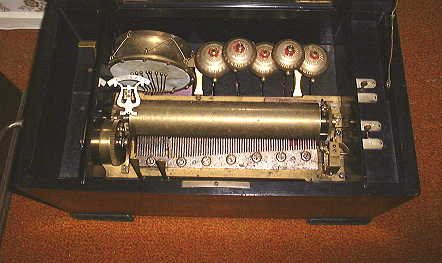 Swiss Music Box mechanism.