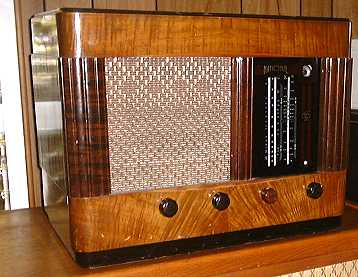National radio made for John Burns Ltd.