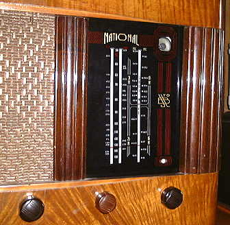 Dial of National radio.