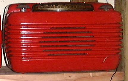 Philco Red Radio
