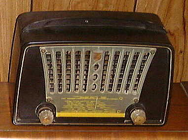 English Philips Radio