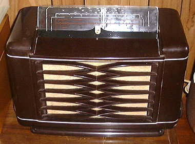 Philips Radio with Removable Glass Dial