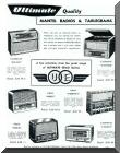 1957 Advertisement for Ultimate Radios.